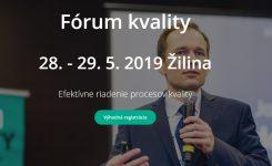 Fórum kvality 2019
